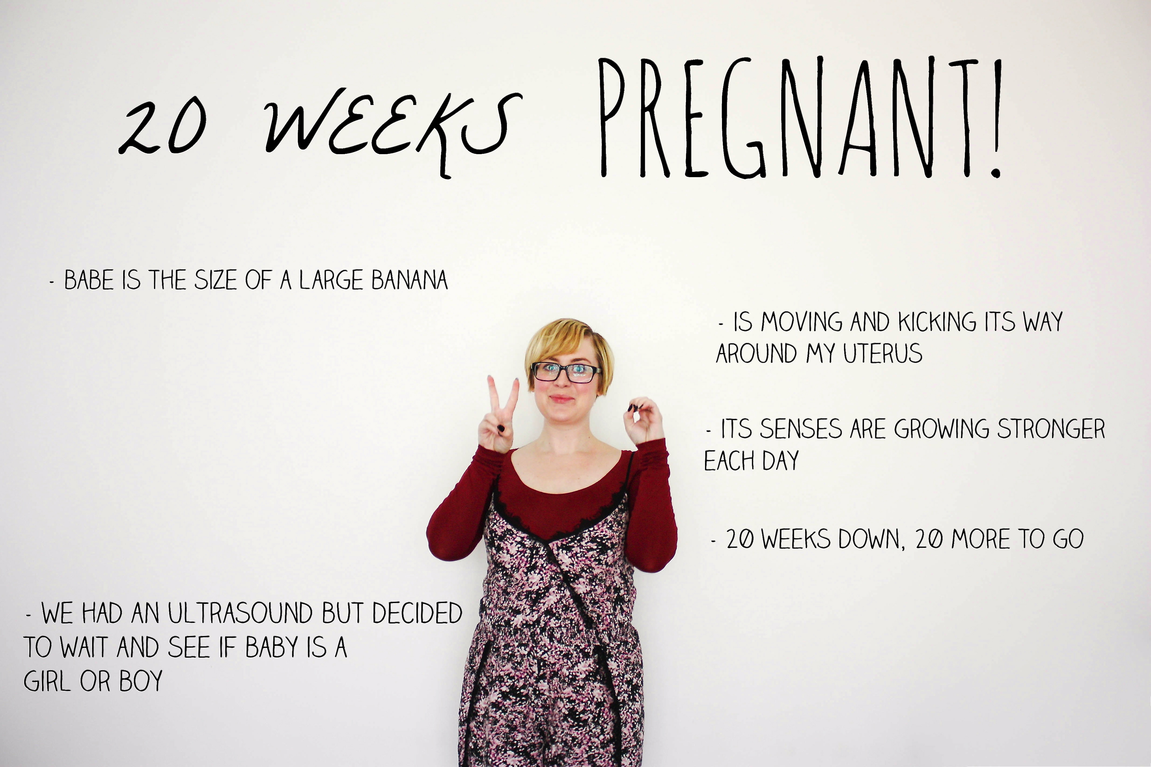 20 weeks pregnant | Hello, Scarlett Blog