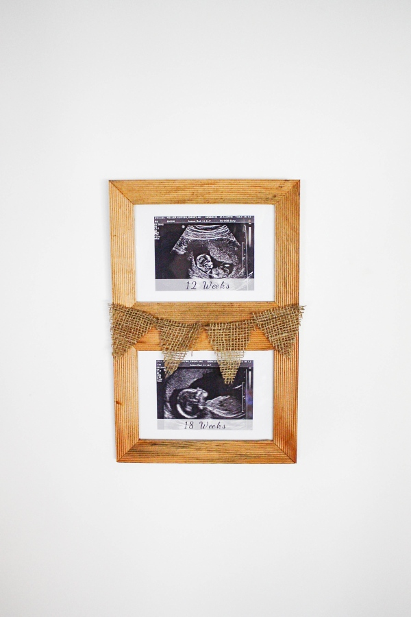 DIY Sonogram Frame - 5